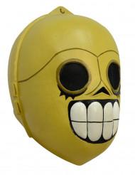 Halloween Droiden Maske Dìa de los muertos für Erwachsene Hand bemalt