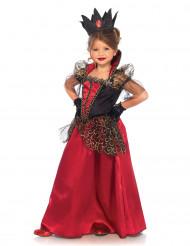 Böse Königin Halloween-Kinderkostüm schwarz-rot