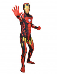 Marvel Ironman Morphsuit Lizenzware rot-schwarz