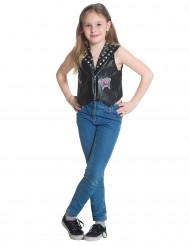 Chica Vampiro Halloween-Kinderkostüm Daisy Weste Lizenzartikel schwarz-pink
