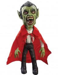 Vampir-Puppe Halloween Raumdekoration rot-grün-schwarz 60 cm hoch