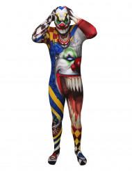 Psycho Clown Morphsuit Halloween bunt
