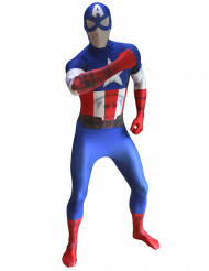 Marvel Captain America Digital Morphsuit Lizenzware blau-weiss-rot