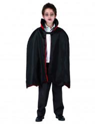 Vampir-Umhang für Kinder Halloween Kostümzubehör schwarz-rot  66 cm lang