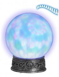 Leuchtende Kristallkugel