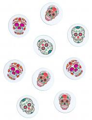 Dia de los Muertos Halloween-Konfetti Tischdeko bunt 9g