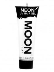 Moon Glow - Neon UV Haar-Gel Haarfarbe Bodypainting fluoreszierend weiss 20ml