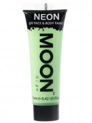 Moon Glow - Neon UV Gesicht- und Körperfarbe Schminke Makeup Bodypainting fluoreszierend pastell grün 12ml