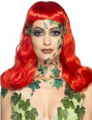 Flüssiglatex Halloween-Schminke mit Schwamm grün 59ml