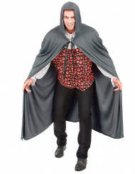Vampir-Umhang Mittelalter-Umhang grau 130cm