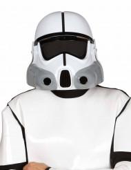 Weltraumsoldat Maske für Erwachsene weiss