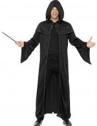 Zauberlehrling Umhang Kostüm-Accessoire schwarz