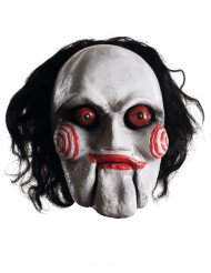 Saw™ Halloween Latexmaske Billy weiss-rot-schwarz