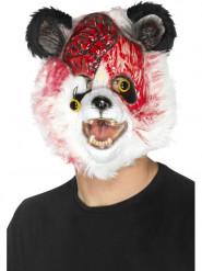 Blutiger Zombie-Pandabär Halloween-Maske bunt