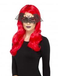 Sexy Fledermaus Halloween-Augenmaske Kostüm-Accessoire schwarz