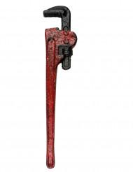 Rohrzange Halloween Kostümzubehör rot 53cm