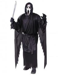 Ghostface Scream Halloween-Herrenkostüm schwarz-weiss