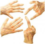 Riesen Latex-Hände hautfarben
