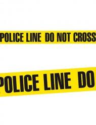 Absperrband POLICE LINE DO NOT CROSS Halloween-Deko schwarz-gelb 20mx7,5cm
