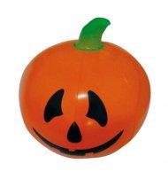 Aufblasbarer Kürbis Halloween Party-Deko orange-schwarz-grün 110cm