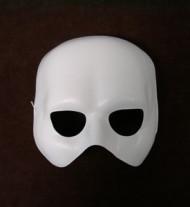 Phantom Maske Halbmaske weiss