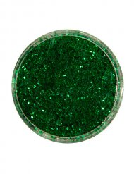 Polyester-Streuglitzer smaragdgrün