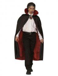 Vampir Kragen-Umhang Deluxe für Kinder schwarz-rot