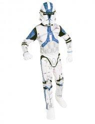 Star Wars Clonetrooper Kinderkostüm weiss-blau