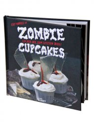 Zombie Cupcakes Halloween Backbuch bunt