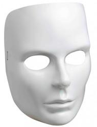 Venezianische Gesichtsmaske Frauen weiss
