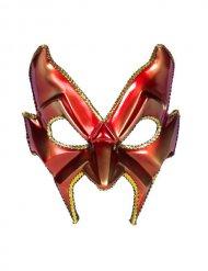 Venezianische Maske Teufel rot