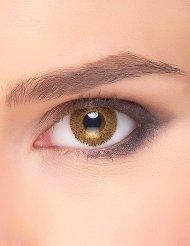Kontaktlinsen Funken  gold-gelb