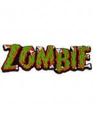 Kreepsville Gothic Aufnäher Zombie grün-rot