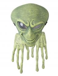 Horror Alien Maske mit Händen grün