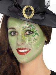 Bezaubernde Hexe Make-Up Set grün