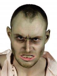 Zombie Zähne Halloween-Accessoire grün-grau