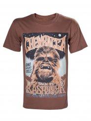 Star Wars Chewbacca T-Shirt Lizenzware braun