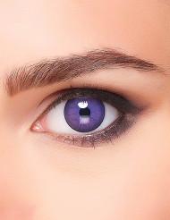 Monster-Kontaktlinsen Halloween-Accessoire lila