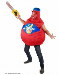 Böse Orangina™ Halloween-Herrenkostüm Lizenzware rot-blau