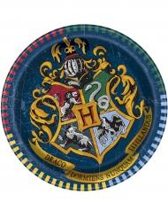 Harry Potter™ Partyteller mit Hogwarts-Wappen 8 Stück bunt 16cm