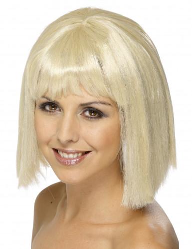 Pagenschnitt Perücke Deluxe blond