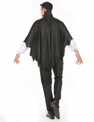 Vampir Halloween-Kostüm Dracula schwarz-grau-rot-2