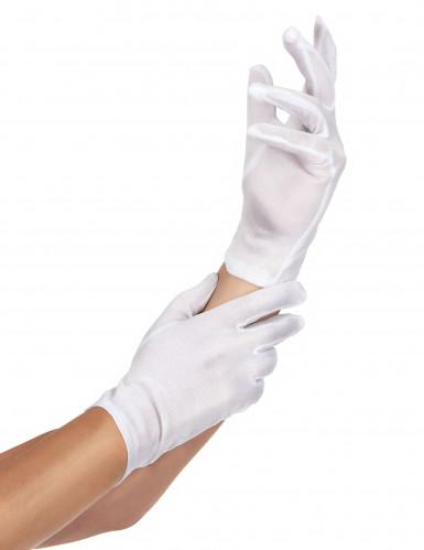 Handschuhe weiss für Damen