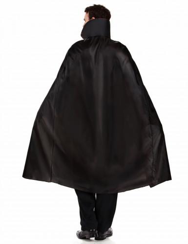 Vampir Blutsauger Halloween Herrenkostüm schwarz-bordeaux-2