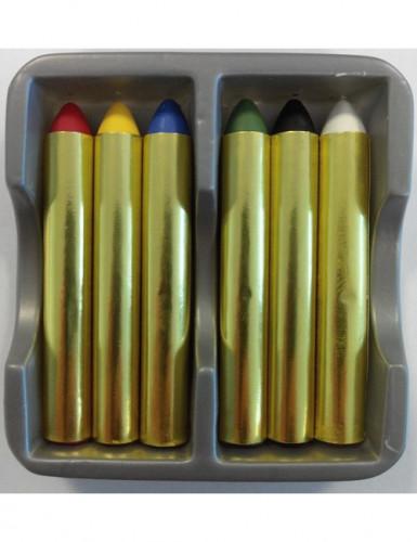 Schminkstift-Set 6 Stück bunt 9,6g