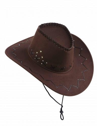 Cowboyhut für Erwachsene braun