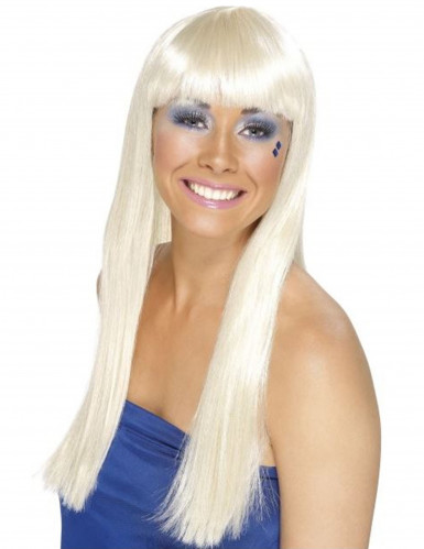 70er Jahre Dancing Queen Perücke blond