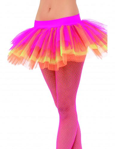 Tutu Unterrock pink-gelb