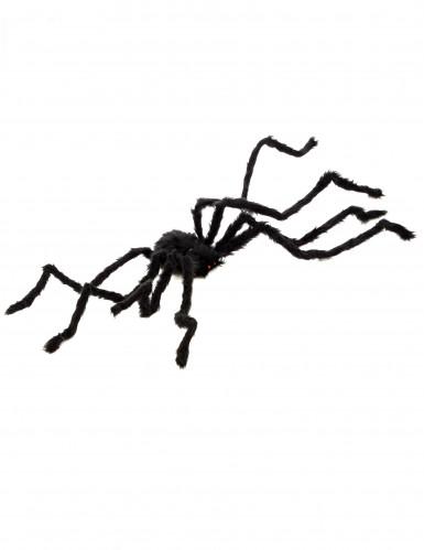 Riesenspinne Halloween-Deko schwarz 100 cm