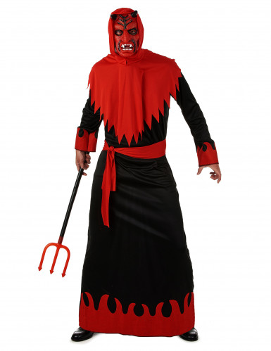 Böser Teufel Halloween-Kostüm schwarz-rot